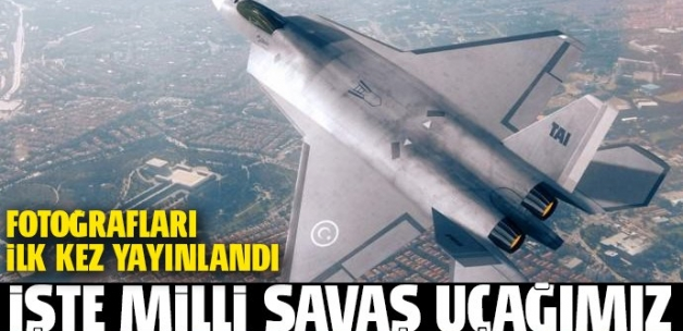 Milli savaş uçağı TF-X'in ilk fotoğrafı yayınlandı