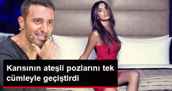 Mustafa Sandal, Eşinin Ateşli Pozlarını Tek Cümleyle Geçiştirdi