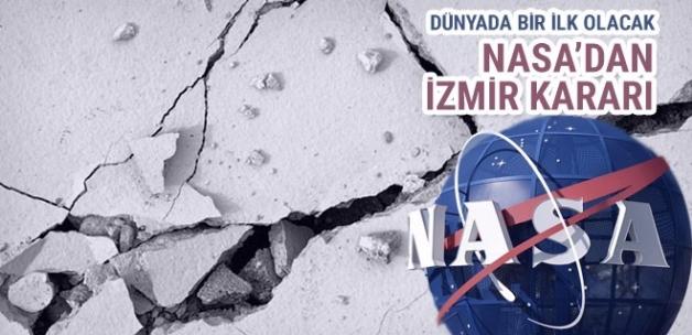 NASA'dan İzmir kararı! Depremler önceden tahmin edilecek