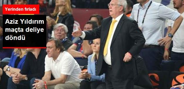 Olympiakos Maçında Hakemin Kararı Aziz Yıldırım'ı Çıldırttı