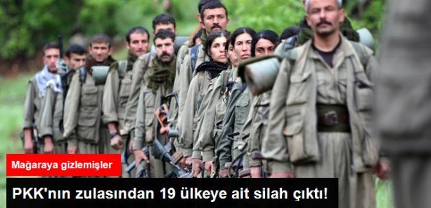 PKK'nın Zulasından 19 Ülkeye Ait Silah Çıktı