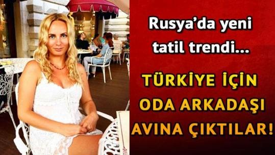 """Ruslardan yeni tatil trendi: """"Türkiye'de oda arkadaşı arıyorum"""""""