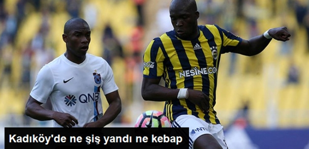 Süper Lig'de Fenerbahçe ile Trabzonspor 1-1 Berabere Kaldı