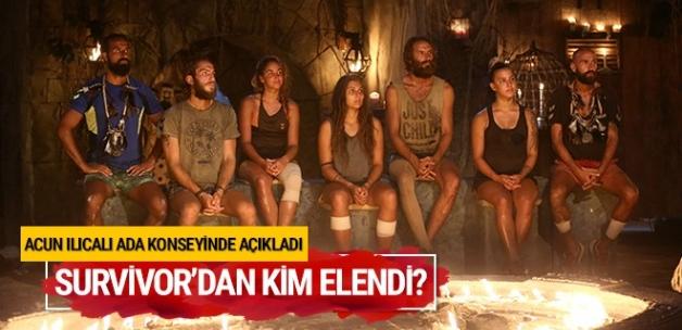 Survivor 9 Mayıs 2017 kim elendi? Adaya kim veda etti?