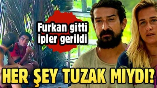 Survivor'da Furkan'ın elenmesinin ardından ipler geriliyor