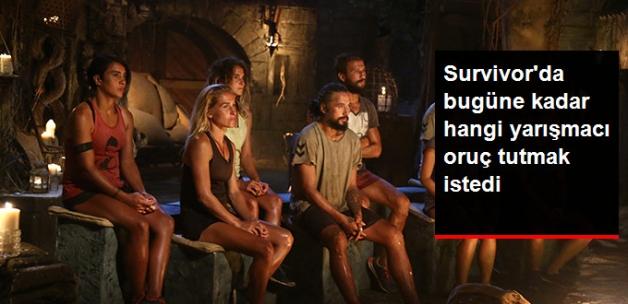 Survivor'da Oruç Tutmak İsteyen Yarışmacı Var mı?