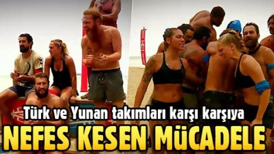 Survivor'da Türk ve Yunan takımları karşı karşıya