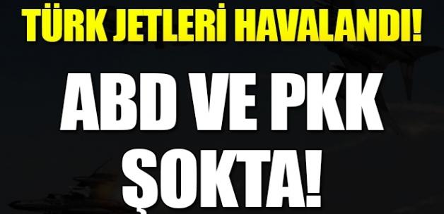 """""""Türk uçakları gelemez"""" denilen yerde bozguna uğradılar!"""