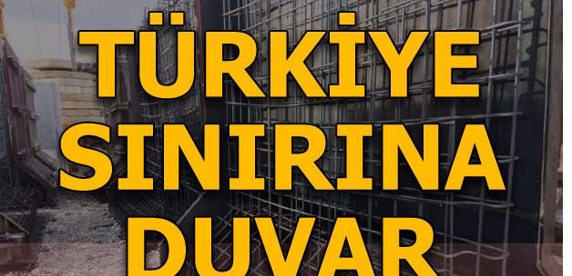 Türkiye İran sınırına duvar! İşte ilk cevap
