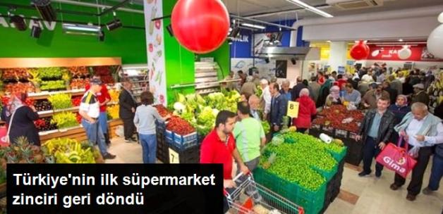 Türkiye'nin İlk Süpermarket Zinciri Gima Geri Döndü