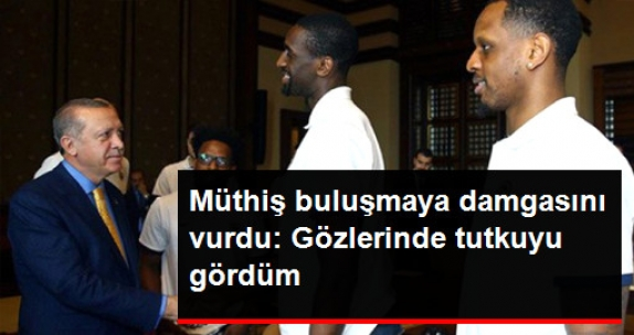 Udoh: Şampiyonluktan Bahsederken Erdoğan'ın Gözünde O Tutkuyu Gördüm