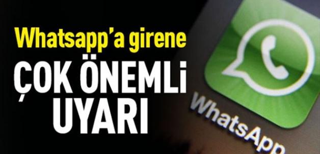 WhatsApp kullananlar dikkat! Uyarı üstüne uyarı geliyor