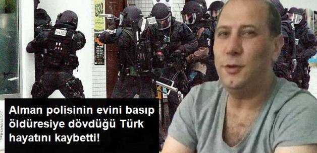 Almanya'da Polis Şiddetine Maruz Kalan Türk Öldü