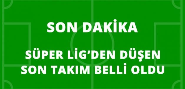 Çaykur Rizespor, Süper Lig'den Düşen Son Takım Oldu