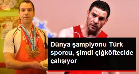 Dünya Şampiyonluğu Bulunan Türk Halterci, Çiğköftecide Çalışıyor