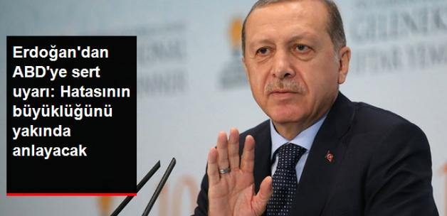 Erdoğan'dan ABD'ye PKK Uyarısı: Hatasının Büyüklüğünü Çok Yakında Anlayacak