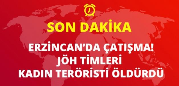 Erzincan'da Çatışma Çıktı! PKK'lı Kadın Terörist Ölü Ele Geçirildi!!