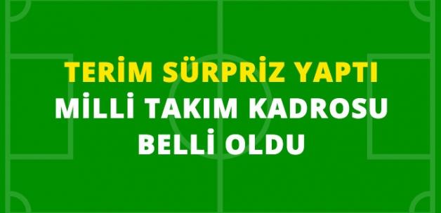 Fatih Terim, Türkiye Milli Takımı Kadrosunu Belirledi