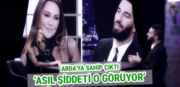 Hülya Avşar'dan Arda Turan'a destek