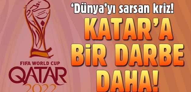 Katar'da yapılacak Dünya Kupası tehlikeye girdi