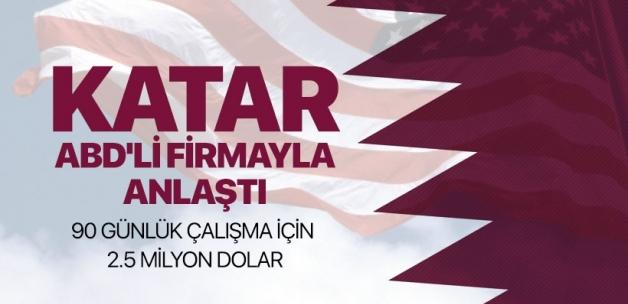 Katar denetlenmek için ABD'li firmayla anlaştı