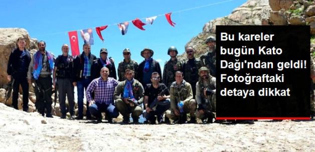 Kato, Türk Bayrakları ve Erdoğan Posterleriyle Donatıldı