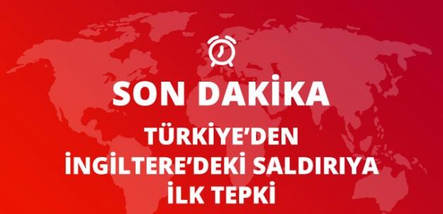 Londra'daki Terör Saldırısına Türkiye'den Açıklama: Alçakça Saldırıları En Güçlü Şekilde Kınıyoruz