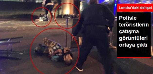 Londra Saldırganlarının Vurulduğu Anın Görüntüleri Ortaya Çıktı