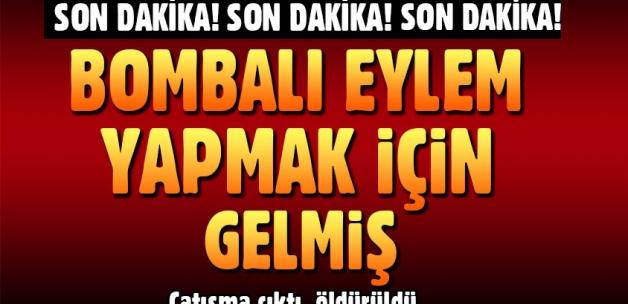 Malatya'da Çatışma Çıktı! Bombalı Eylem İçin Gelen Terörist Öldürüldü