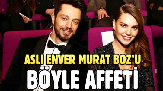 Murat Boz ve Aslı Enver'in barışmasının perde arkası