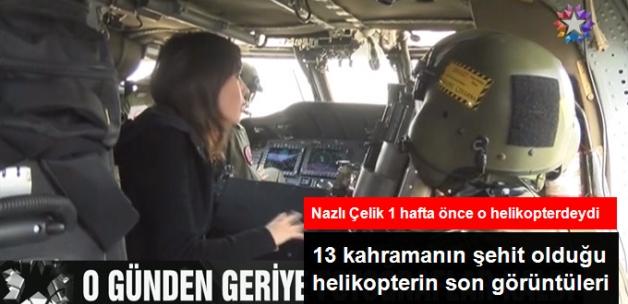 Nazlı Çelik, Şırnak'ta Düşen Halikopterin Son Görüntülerini Yayınladı