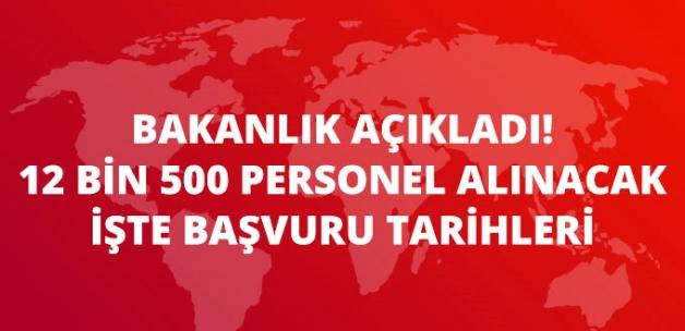 Sağlık Bakanlığı 12 Bin 500 Sözleşmeli Sağlık Personeli Alımı Yapacak
