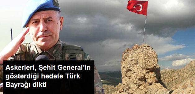 Şehit Aydın'ın Hedefindeki Kato Dağı'nın Zirvesine Türk Bayrağı Çekildi