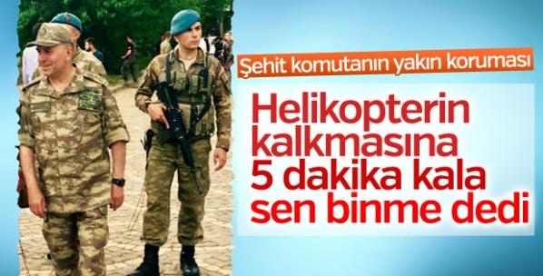 Şehit Aydoğan Aydın'ın korumasından duygusal paylaşım