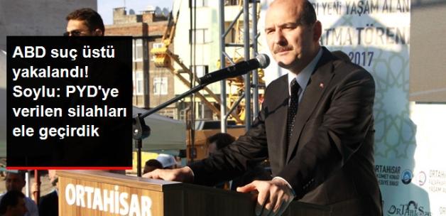 Süleyman Soylu: PYD'ye Verilen Silahlar Ülkemizde Ele Geçiriliyor