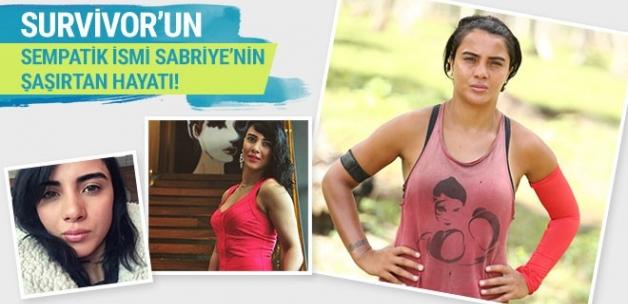 Survivor'ın sempatik ismi Sabriye'nin şaşırtan hayatı!