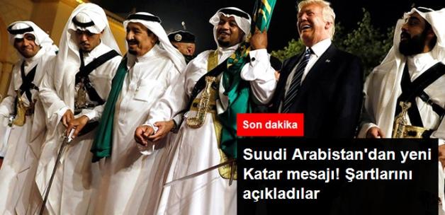 Suudi Arabistan'dan Yeni Katar Mesajı! Dışişleri Bakanı Şartları Açıkladı