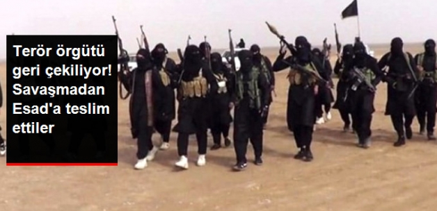 Terör örgütü DEAŞ Bazı Bölgeleri Savaşmadan Rejime Bıraktı