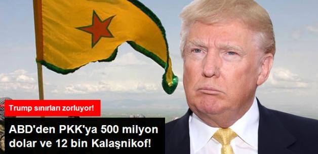 Trump Yönetimi PKK/PYD'ye 500 Milyon Dolar ve Binlerce Silah Vermeyi Onayladı