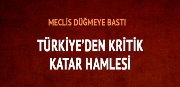 Türkiye'den kritik Katar hamlesi: TSK unsurlarının konuşlandırılması ve jandarma eğitimi Meclis'te