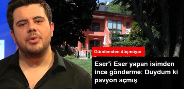 Yılmaz Erdoğan'dan Eser Yenenler'e Gönderme: Duydum ki Pavyon Açmış