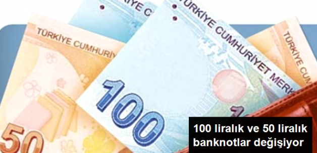 100 TL ve 50TL Banknotlara Yeni İmza Eklenecek