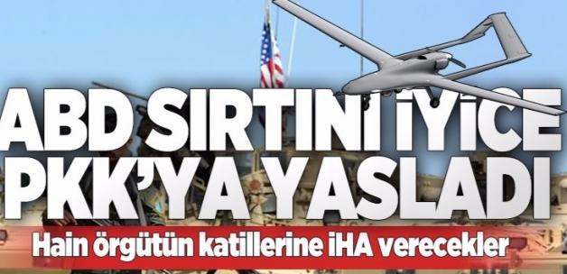 ABD'den PKK'ya İHA desteği  .