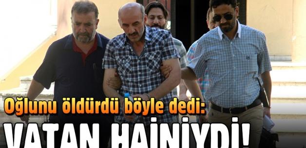 Bursa'da bir baba oğlunu öldürdü