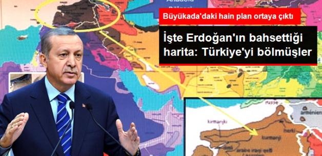 Büyükada'daki Toplantıya Katılan İsimden Çıktı! İşte Erdoğan'ın Bahsettiği Harita