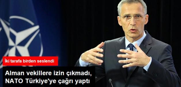 NATO'dan Türkiye ve Almanya'ya Sorunu Çözün Çağrısı