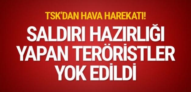 Son Dakika! Eylem Hazırlığındaki PKK'lı Teröristler Türk Jetleri Tarafından Vuruldu