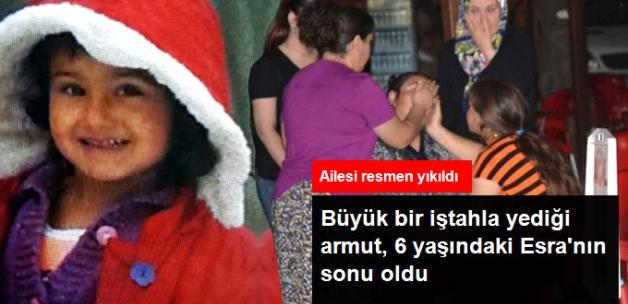 Yediği Armuttan Boğazı Tahriş Olan Esra, Hastanede Öldü