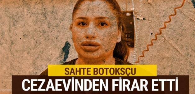 Adana'daki sahte botoksçu cezaevinden firar etti
