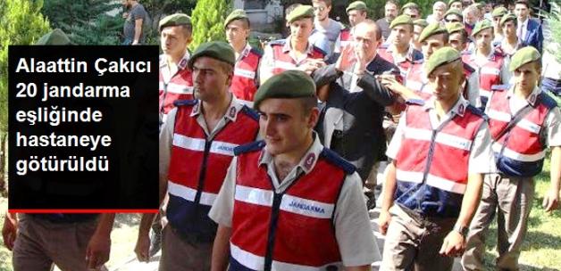 Alaattin Çakıcı, 20 Jandarma Eşliğinde Sağlık Kontrolü İçin Hastaneye Götürüldü